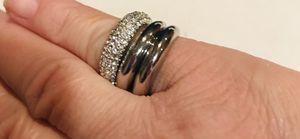 Triple the fun rings! Sz 6 for Sale in Silver Spring, MD