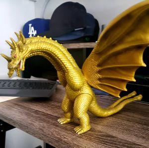 King Ghidorah Bandai Figure / Toy (Godzilla) for Sale in Bellflower, CA
