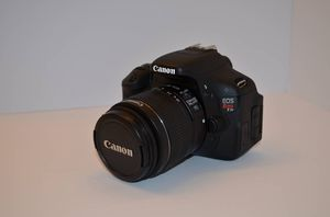 Canon EOS Rebel T3i Digital SLR Camera With Extras for Sale in Rocklin, CA