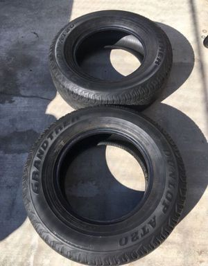Two 265/70R17 Dunlop Tires for Sale in Whittier, CA