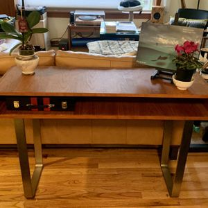 MCM Wood And Steel Console, Coffee, And End Table for Sale in Woodway, WA