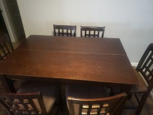 Kitchen table/ Dinning table with 6 chairs for Sale in Phoenix, AZ