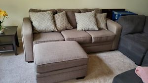 Sofa, ottoman, and accent chair for Sale in Alexandria, VA