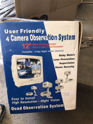 Security / observation system. for Sale in Temecula, CA