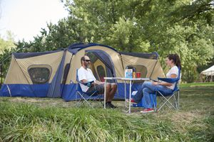 Title: Ozark Trail 14-Person 4-Room Base Camp Tent with 4 Entrances for Sale in Houston, TX