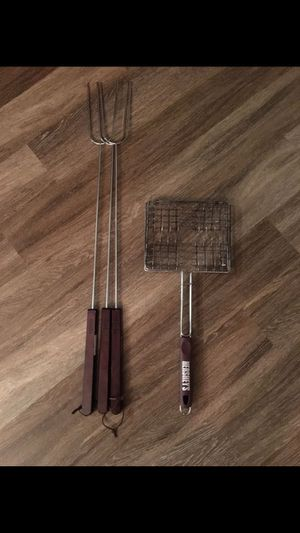 Used only once! Barbecue tool set for Sale in Alexandria, VA