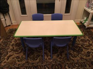 New in Box-Multipurpose Kids Table w/4 chairs for Sale in Orland Park, IL
