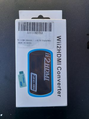 Wii 2 HDMI Converter Adapter for Sale in Montclair, CA