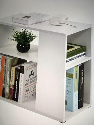 White Bookcase Side Table - New in Box for Sale in Clearwater, FL