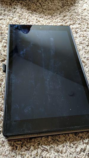 Amazon Fire Tablet w/ case for Sale in Orlando, FL