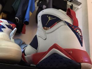 "Air Jordan Retro 7 ""Olympic Tinker Alternate"" size 10 for Sale in Sacramento, CA"