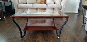 Glass coffee table with two matching end tables. Sold as a set. Best Offer. for Sale in Wenatchee, WA