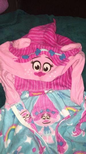 Trolls Poppy onesie Pjs size 10/12 for Sale in Los Angeles, CA