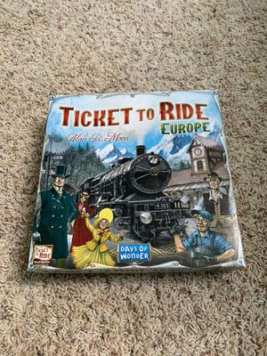 Ticket to Ride Europe for Sale in Ashburn, VA