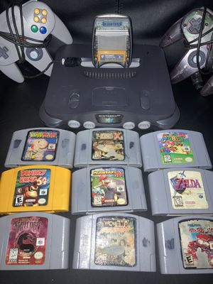Nintendo 64 bundle for Sale in Douglasville, GA