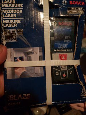 Bosch Blaze 135 ft. Laser Measure - GLM 42 NEW SEALED for Sale in Brockton, MA