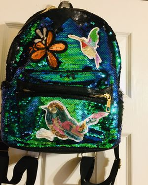 Fashion Angels mermaid sequins backpack for Sale in Chesterfield, VA