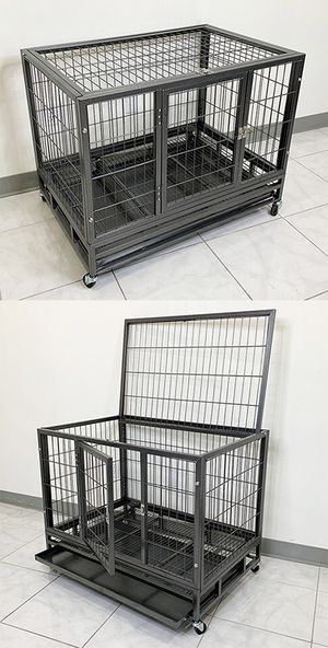 """New in box $110 Heavy-Duty Dog Cage 36x24x29"""" for Sale in Whittier, CA"""