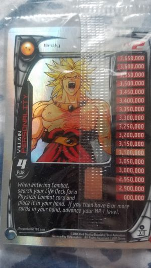 Dragon ball z Broly Promo card for Sale in Squaw Valley, CA