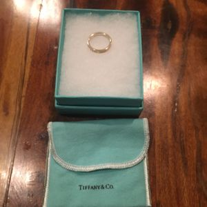 Tiffany and co (thin) ring size 8 for Sale in Lascassas, TN