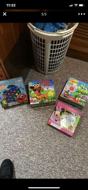 Kids games ages 4+ for Sale in Smithfield, RI