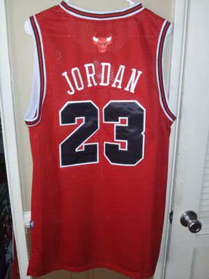 New! Mens XL Michael Jordan Chicago Bulls Jersey Stitched $50. Ships +$3. Pick up in West Covina for Sale in West Covina, CA