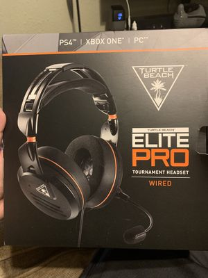 Turtle beach elite pro gaming headset for Sale in Lakeland, FL