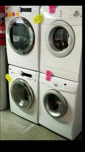 🌹Hurry now Sale store full of nice reconditioned refrigerator washer dryer stove stackable+financing available and delivery. And warranty for Sale in Seattle, WA