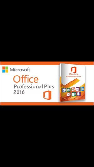 !Free! Genuine Office 2016 pro plus with laptop purchase or system tuneup for Sale in Tacoma, WA