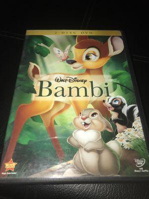 Disney Bambi DVD for Sale in Corona, CA