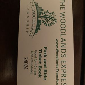 The Woodlands Express tickets for Sale in Spring, TX