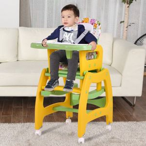 3 in 1 Baby High Chair Convertible Play Table Seat Booster Toddler Feeding Tray for Sale in Los Angeles, CA