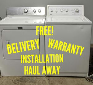 FREE DELIVERY/INSTALLATION/WARRANTY/HAUL AWAY - Kenmore Washer & Maytag Dryer for Sale in Hilliard, OH