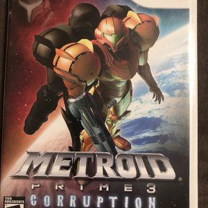 Metroid prime 3: corruption Wii for Sale in Fresno, CA