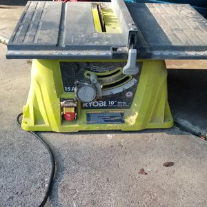 "Ryobi 10"" Table Saw for Sale in Orlando, FL"