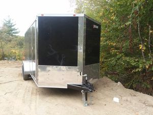 New Liberty 7 x 16 enclosed cargo trailer for Sale in Enfield, CT