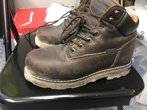 Steel Toe Boots Size 8.5 for Sale in St. Petersburg, FL