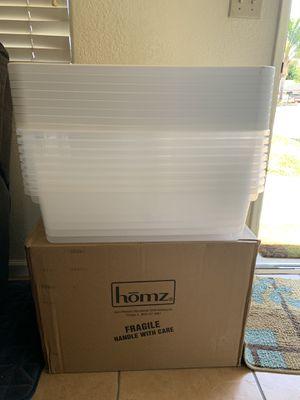 Brand new Homz snap-lock storage bin 28 quart for Sale in Nipomo, CA