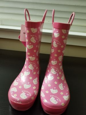 Hello Kitty Rainboots and Rain Coat for Sale in Haddon Heights, NJ