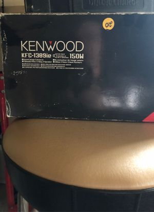 Kenwood round car audio speakers $20 for Sale in Oak Forest, IL