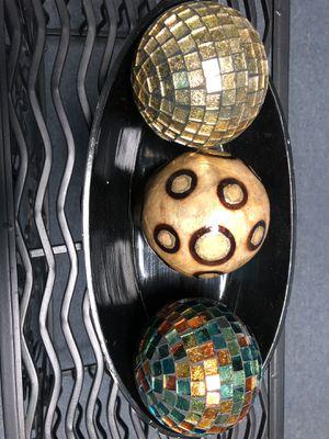 Home decor Decorative balls for Sale in Richmond, VA
