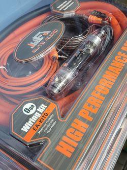 New 0 Gauge Amplifier Kit for Sale in Houston,  TX