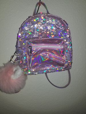 Small sequin backpack for Sale in Georgetown, TX