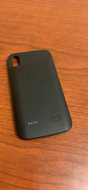 iPhone XR case will battery (capacity 5000 mah) for Sale in Stafford, VA