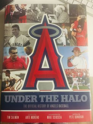 Under The Halo the official History of Angels baseball for Sale in Whittier, CA