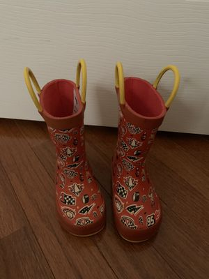 Western chief rain boots kids (toddler size5) for Sale in Ashburn, VA