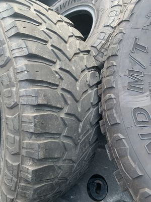 Crosswind tires 35x12.50 R18LT for Sale in Annandale, VA