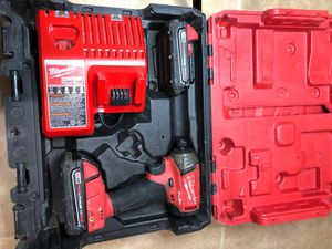 Milwaukee m18 fuel impact surge drill kit for Sale in Dallas, TX