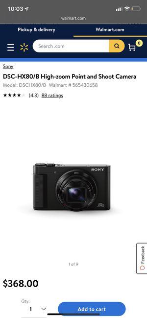 Sony DSC-HX80 Camera / case included for Sale in Pembroke Pines, FL