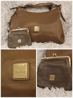 Dooney and Bourke leather hobo and wallet for Sale in Columbus, OH